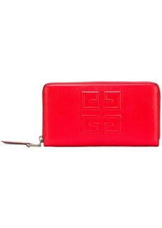 Givenchy zip-around continental wallet