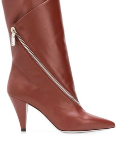 Givenchy zipped flap boots
