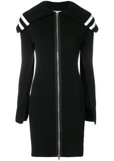 Givenchy zipped long cardigan