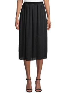 Go Silk Go Carwash Slit-Hem Skirt