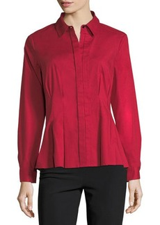 Go Silk Classic Cotton-Blend Shirt