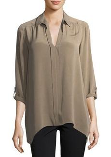 Go Silk Classic Silk Dolman-Sleeve Tunic