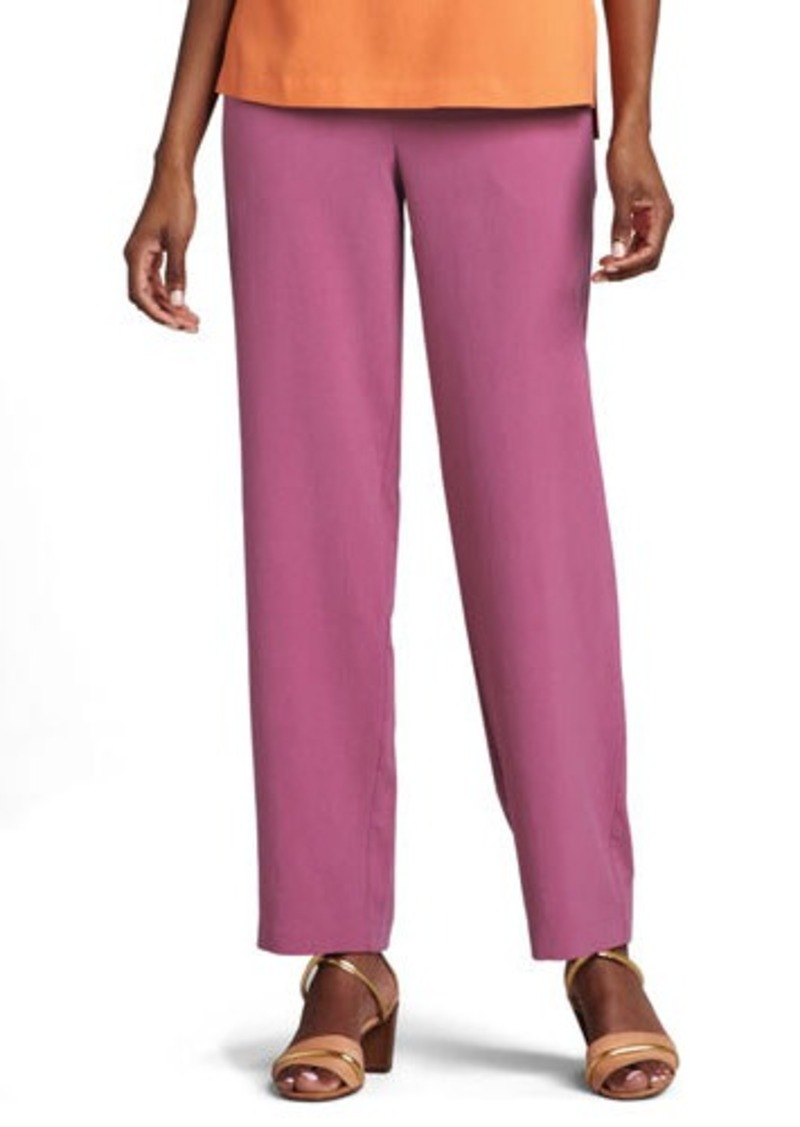 Go Silk Silk Ankle Pants  Silk Ankle Pants