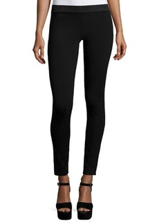 Go Silk Silk Crepe Ankle Leggings