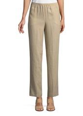Go Silk Linen Wide-Leg Pants
