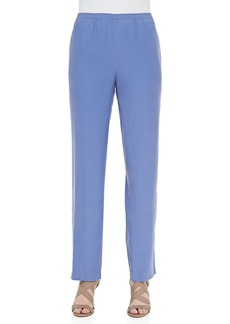 Go Silk Solid Silk Pants