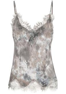 Gold Hawk abstract print vest
