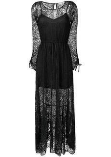 Gold Hawk Chantilly dress