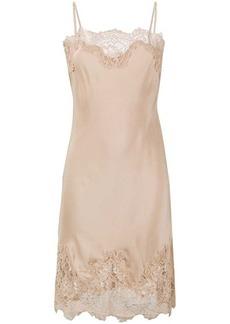Gold Hawk Coco slip dress