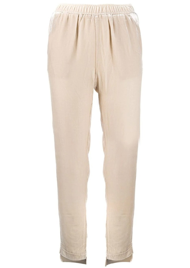 Gold Hawk cropped pull-on trousers