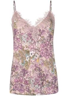 Gold Hawk floral-print camisole