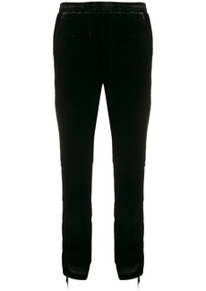Gold Hawk gathered sides cropped trousers