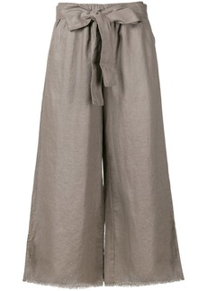 Gold Hawk wide leg trousers - Brown