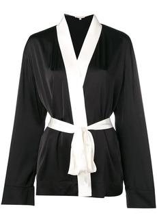 Gold Hawk monochrome robe