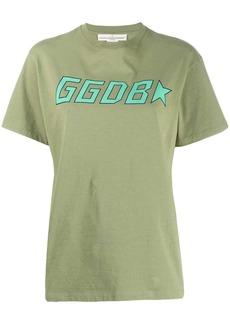 Golden Goose logo print crew neck T-shirt