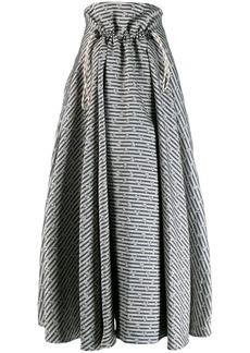 Golden Goose Ayame floral print skirt