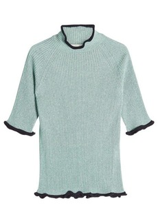 Golden Goose Alya Short-Sleeved Pullover with Cotton