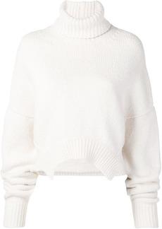 Golden Goose asymmetric hem sweater