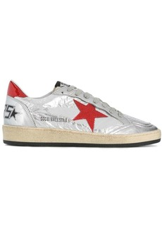 Golden Goose metallic Ballstar low-top sneakers
