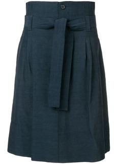 Golden Goose belted a-line midi skirt