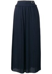 Golden Goose belted pleated skirt