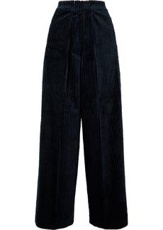 Golden Goose Bertilla Cotton-corduroy Wide-leg Pants