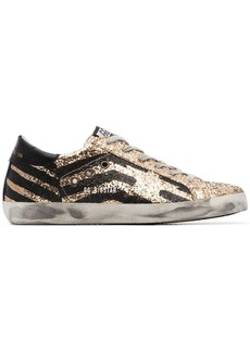 Golden Goose glitter Superstar sneakers