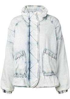 Golden Goose bleached denim jacket