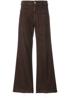 Golden Goose bootcut flared corduroy trousers