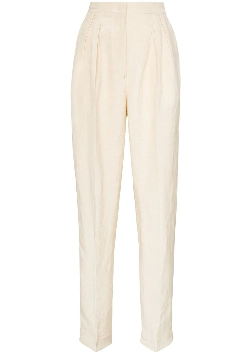Golden Goose brown Felicia high-waisted trousers