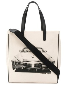 Golden Goose car print tote
