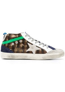 Golden Goose checked sneakers