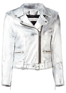 Golden Goose 'Chiodo' metallic jacket