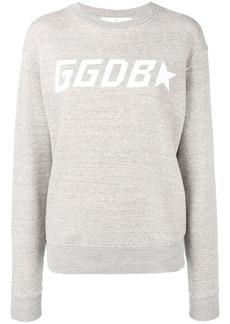Golden Goose contrast logo sweatshirt