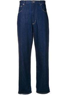 Golden Goose cropped denim jeans