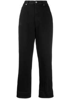 Golden Goose cropped high-rise jeans