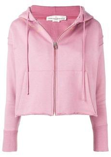 Golden Goose cropped zip hoodie