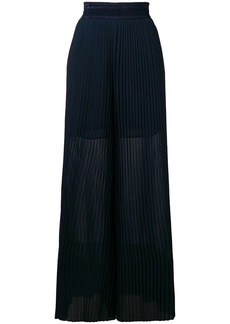 Golden Goose Cygnuns pleated palazzo pants