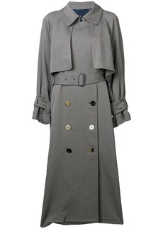 Golden Goose double-breasted trench coat