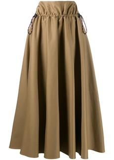 Golden Goose drawstring high-waist skirt