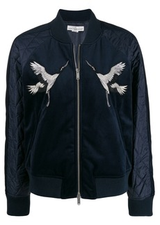 Golden Goose embroidered bomber jacket