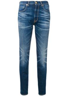 Golden Goose faded straight leg jeans