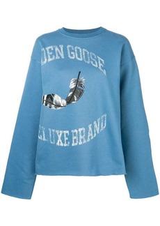 Golden Goose feather logo sweatshirt