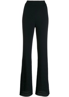 Golden Goose flared ribbed trousers