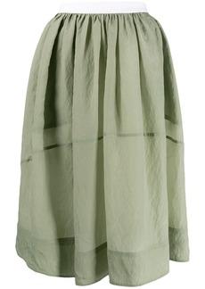 Golden Goose flared skirt