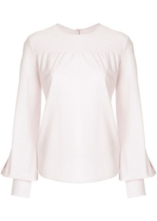 Golden Goose flared-sleeve fitted sweater