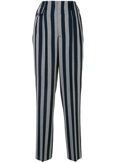 Golden Goose flared striped trousers