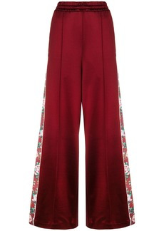 Golden Goose floral band palazzo trousers
