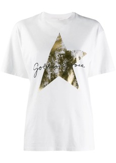 Golden Goose foil-effect star-print T-shirt