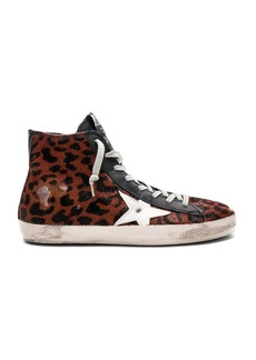 Golden Goose Francy Cow Fur Sneaker